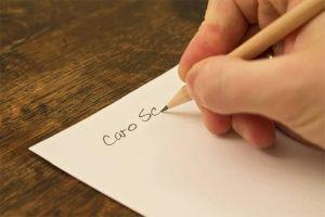 scrivere lettera 2