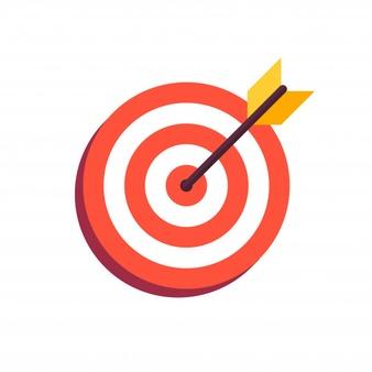 arrow-center-board_100959-68